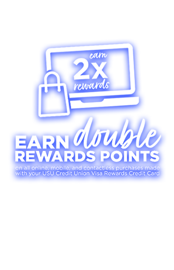Earn Double Rewards Points on all online, mobile, and contactless purchases made with your Goldenwest Visa Rewards Credit Card