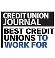 Credit Union Journal Best Credit Unions to Work For Award