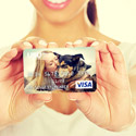 Personalized Visa Cards